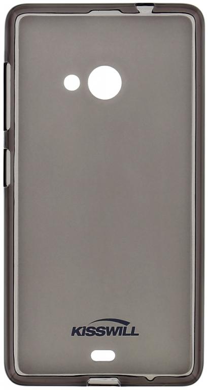 Silikónové puzdro Kisswill pre Lenovo A2010 LTE čierne - TPU ... c9f9f8bafd9