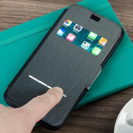 Farba  steel black   oceľová čierna. Kompatibilné  APPLE iPhone 6 Moshi  SenseCover. POZOR 513d59d001c