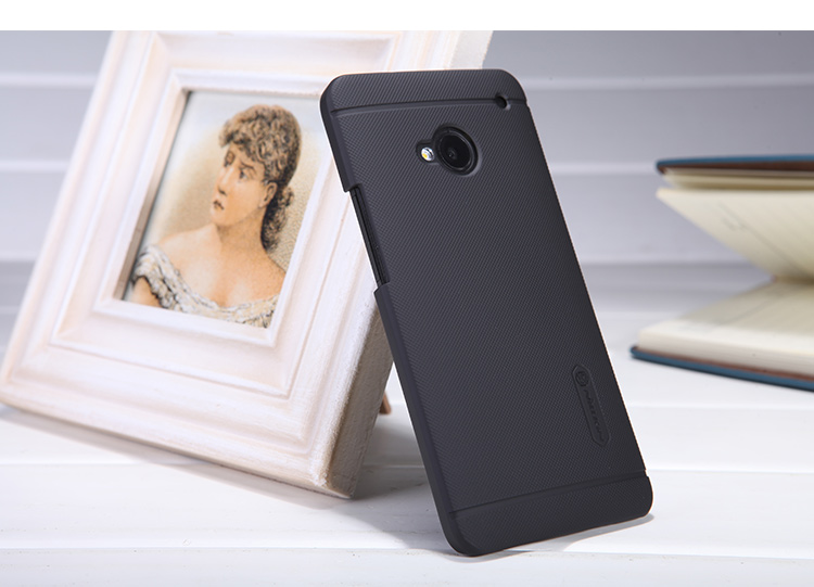 Nillkin Super Frosted Zadný Kryt Black pre HTC ONE   M7 - Zadné ... 449a0c913d5