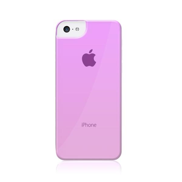 Plastový zadný kryt MUVIT Crystal pre Apple iPhone 5C 40bfd730504
