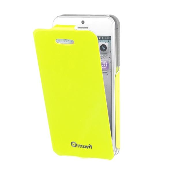 Vyklápacie PU puzdro flap MUVIT Fluo pre Apple iPhone 5C 2d0ad201d4b
