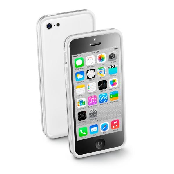 Ochranný rámik CellularLine Bumper pre Apple iPhone 5C 1a7220dee78