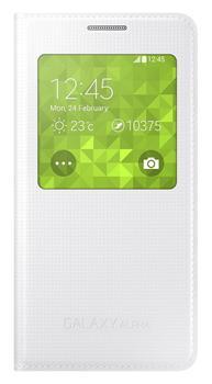 Samsung Flip puzdro S-view EF-CG850BW Galaxy Alpha White - Flipová ... cab8939f71a
