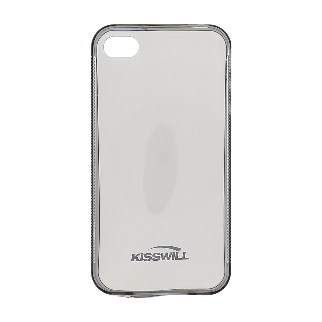 Kisswill silikónové puzdro iPhone 4   4S čierne - TPU 2c4fdec2835