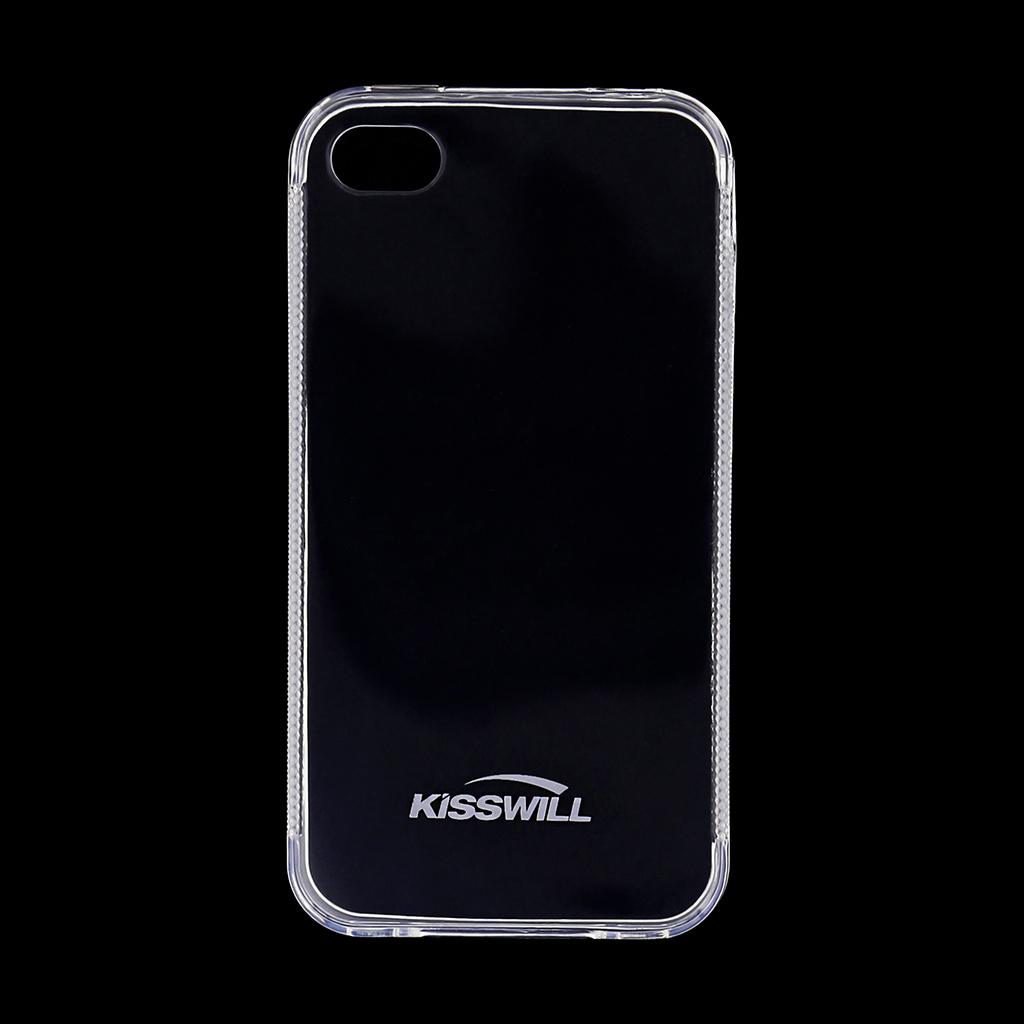 Kisswill silikónové puzdro iPhone 4   4S biele - TPU 67bceb7f9af