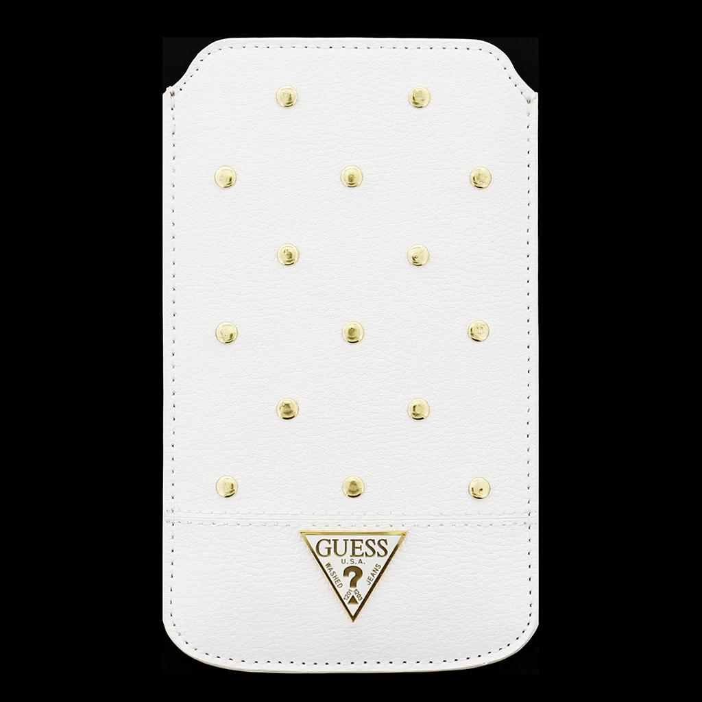Univerzálne púzdro na mobil veľ. L Guess Tessi bielej - Univerzální ... 4ce60f63b69