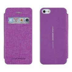 Puzdro na mobil iPhone 5S Mercury Viva fialové - Flipová puzdra s ... 6a9d8cee430