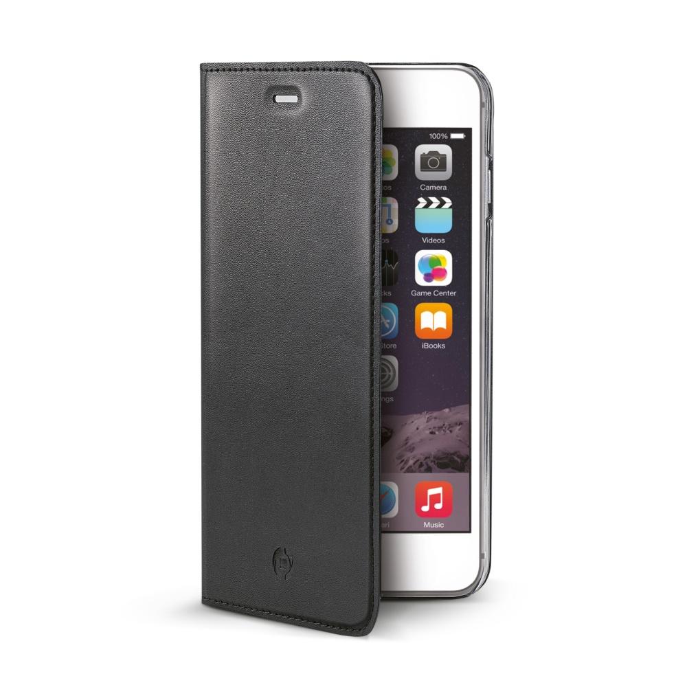 Puzdro flip na Apple iPhone 6s Plus CELLY Air čierne - Flipová ... 2f3f8ed3e53