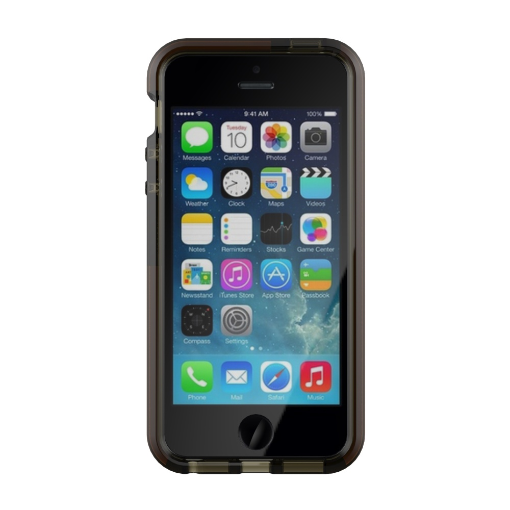 Puzdro Tech21 Impact Check pre Apple iPhone 5   5S   SE dymové - TPU ... e6a6ce4b84e