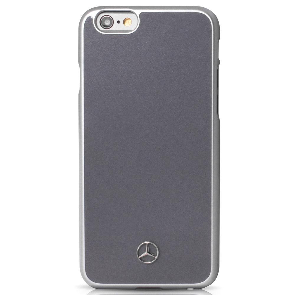 MEHCP6GR Zadný kryt Mercedes Metallic Plate iPhone 6   6s šedý ... 6e0d38730d7