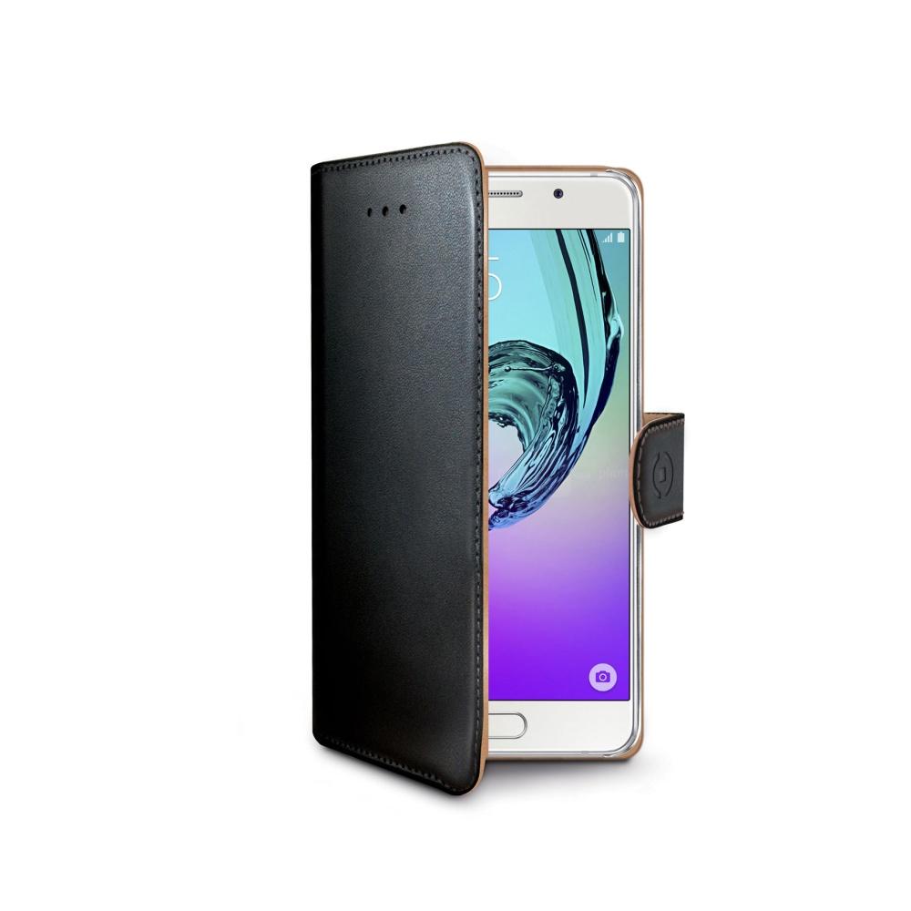CELLY Wally Púzdro flip na Samsung Galaxy A3 2016 čierne - Flipová ... 47dd1929b98