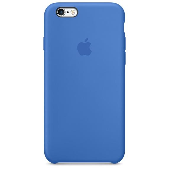 Zadný kryt na Apple iPhone 6s Silicone Case - Royal Blue - TPU ... 6da973b6f05
