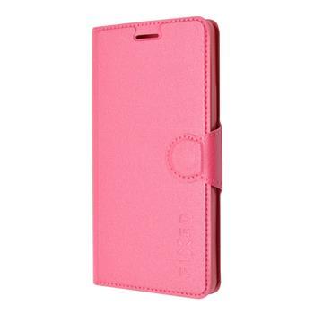 FIXED púzdro flip na mobil Lenovo Vibe X3 ružové