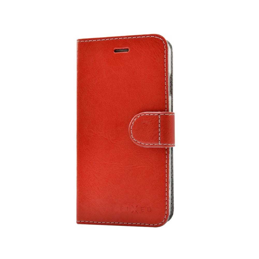 FIXED FIT flipové púzdro Apple iPhone 5   5s   SE červené - Flipová ... 4cf5bcb37e1