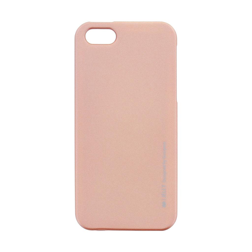 Silikónové puzdro Mercury i-Jelly METAL pre Apple iPhone 5S   SE ... 60873494cee