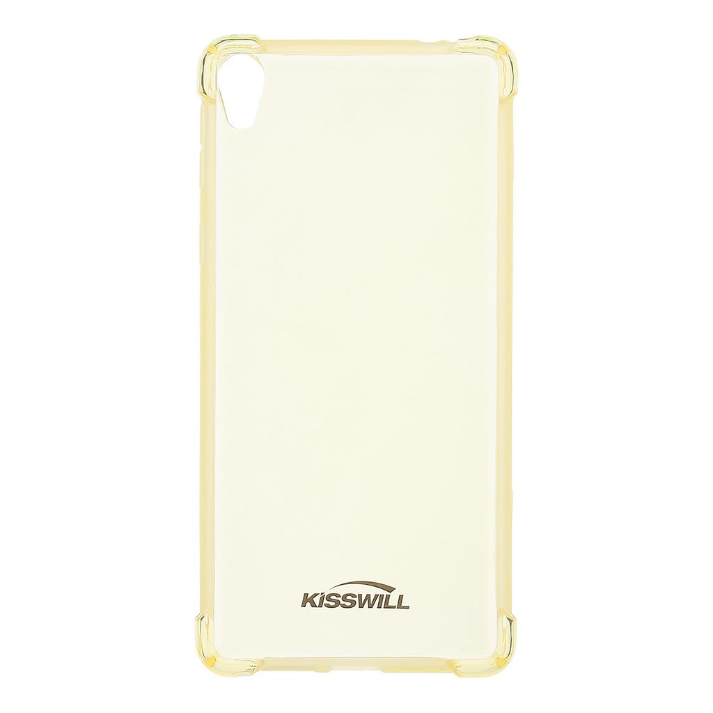 Kisswill Shock silikónové puzdro pre Sony F3311 Xperia E5 zlaté ... f382e29aac8