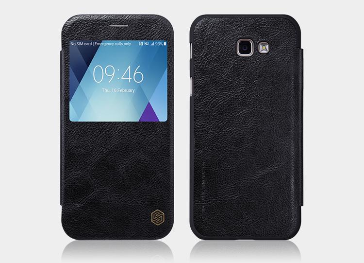 0a8f564d5 Nillkin Qin S-View flipové púzdro Samsung Galaxy A5 2017 black ...