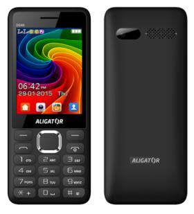 Mobilní telefon Aligator D940 Dual sim Black