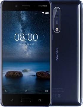 Mobilní telefon Nokia 8 Dual SIM Glossy Blue