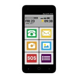 Mobilní telefon Maxcom Smart MS553 FS Dual SIM Grey