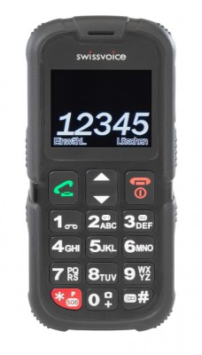 Telefon Swissvoice SV39 Black