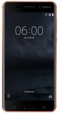 Mobilní telefon Nokia 6 Dual SIM Copper