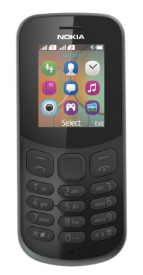 Mobilní telefon Nokia 130 2017 Dual Sim Black