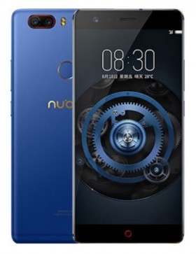 Mobilní telefon Nubia Z17 Lite Dual SIM Blue / Gold