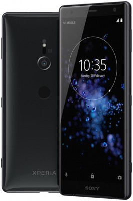 Mobilní telefon Sony Xperia XZ2 H8266 Dual SIM Liquid Black
