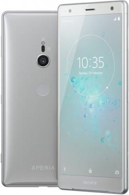 Mobilní telefon Sony Xperia XZ2 H8266 Dual SIM Liquid Silver