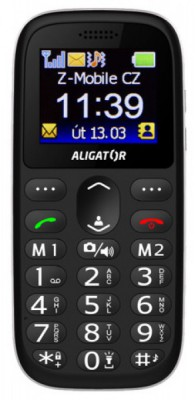 Seniorský telefon Aligator A510
