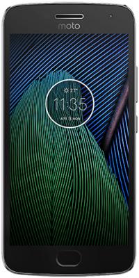 Motorola Moto G5 Plus šedá